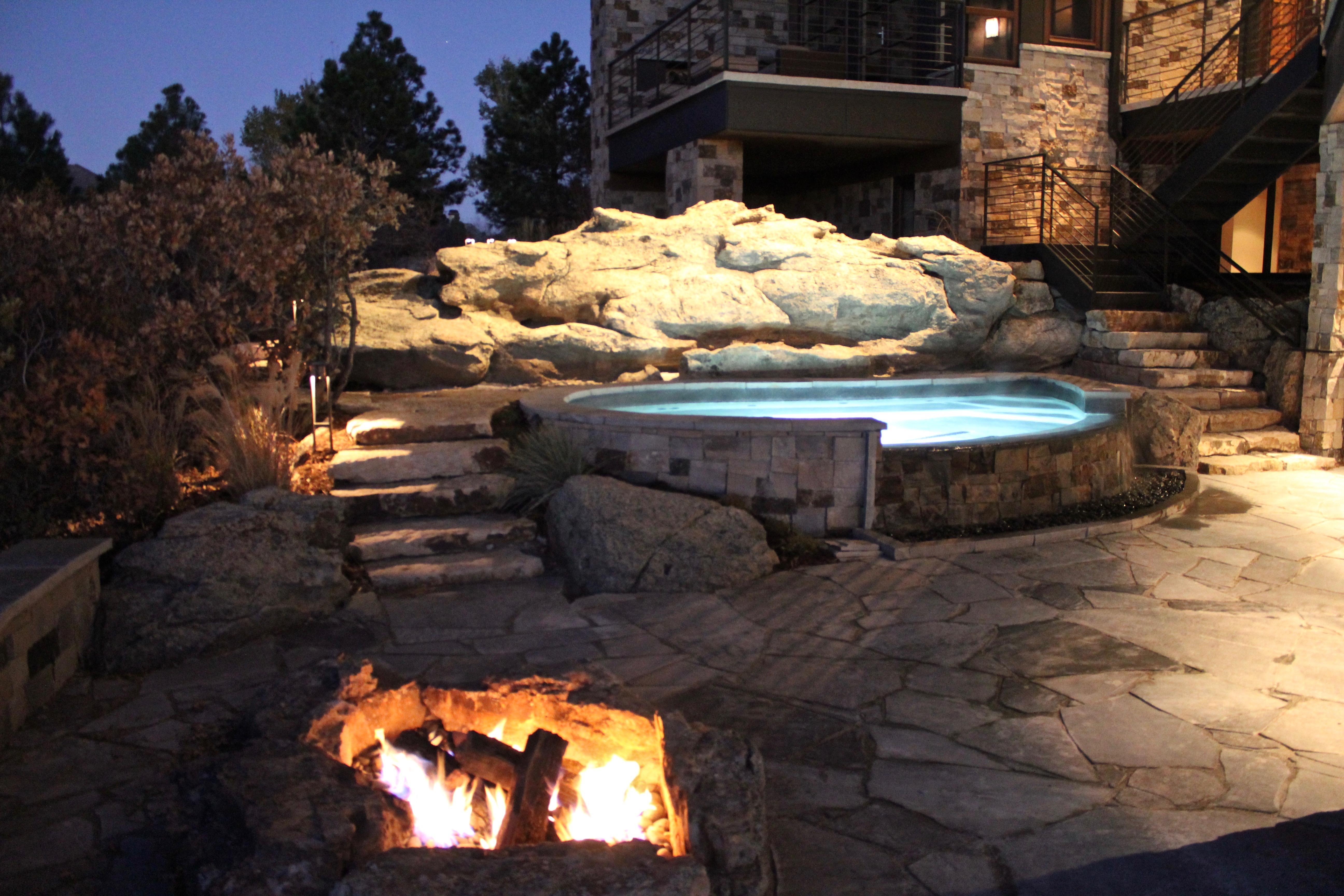 landscape outdoor patio pool lighting electrical 1 Colorado