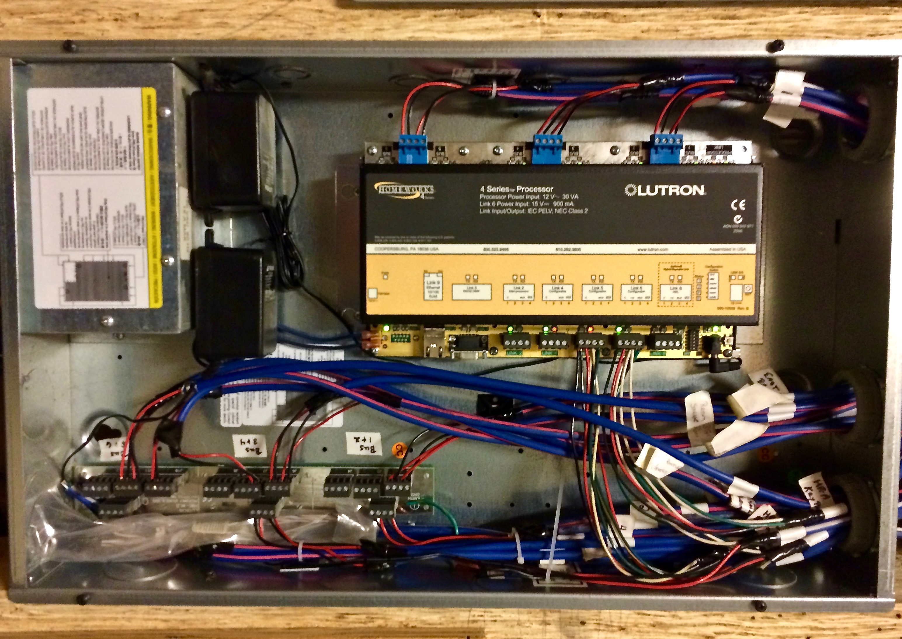 Lutron Controls System Wiring Home Automation Electrical 3 Management