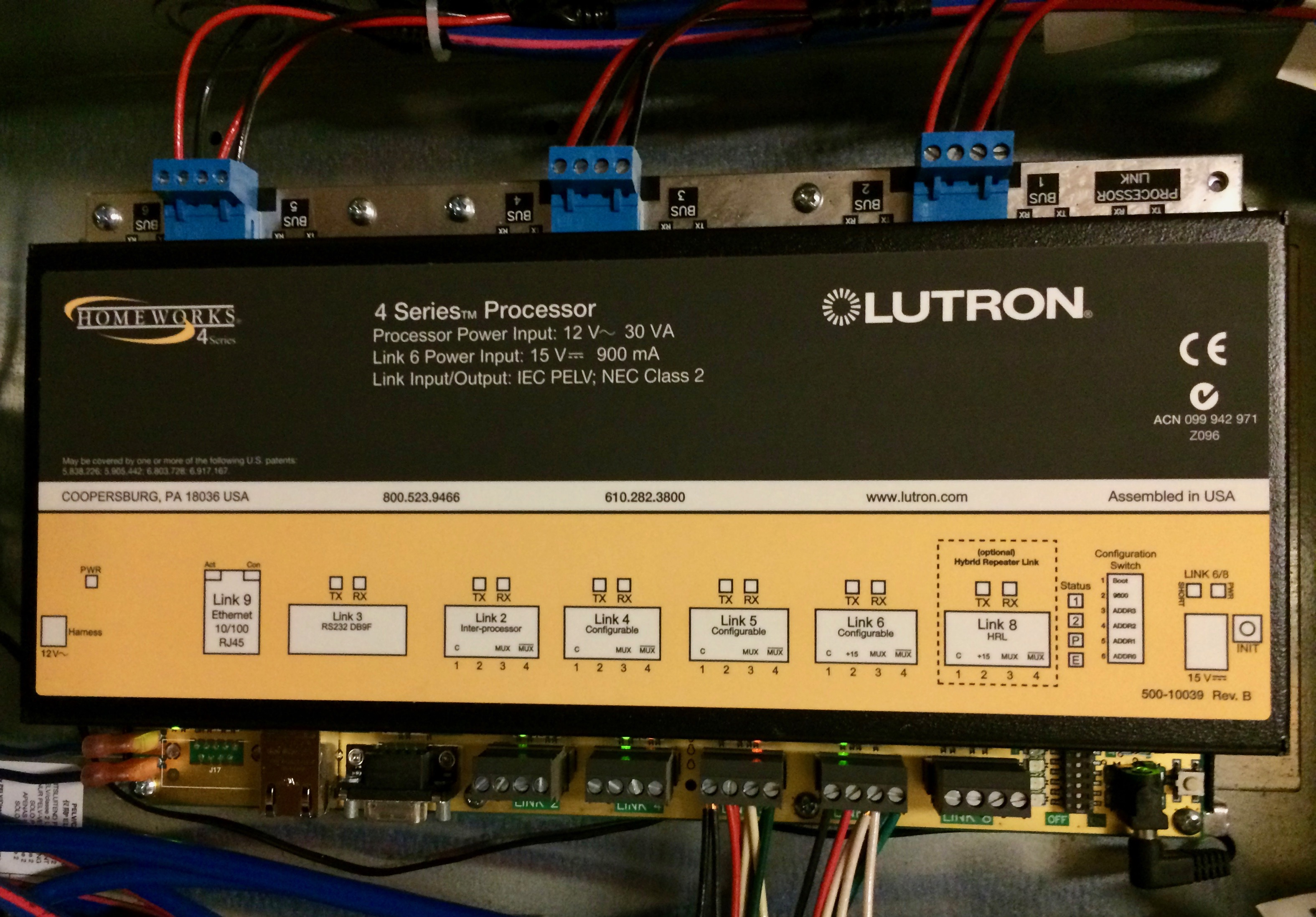 Lutron Controls System Wiring Home Automation Electrical 4 Lighting In Series